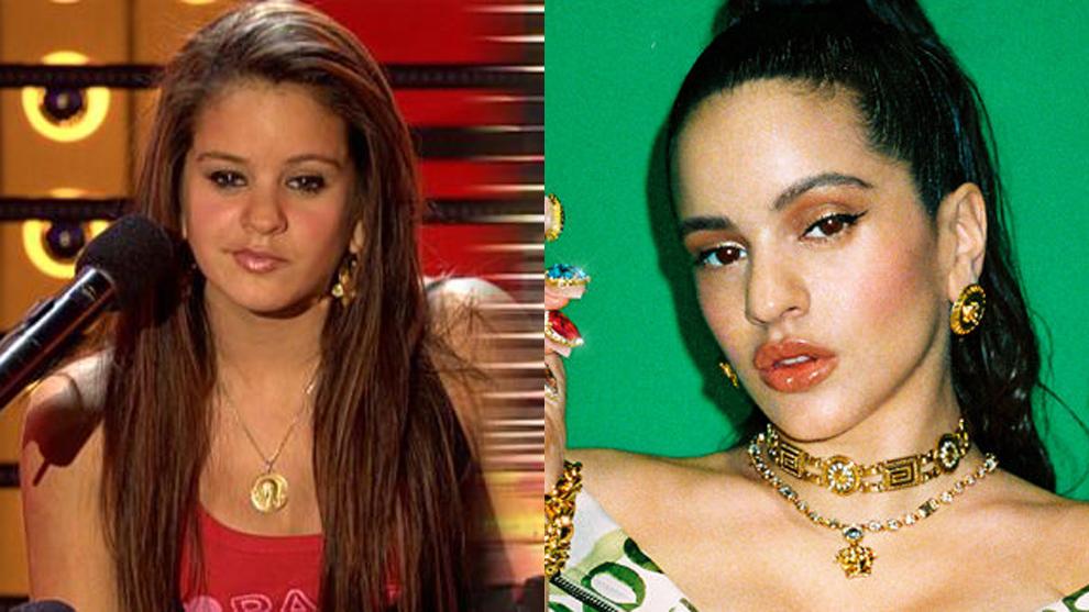 Así apareció la cantante en 2008 en Tú sí que vales. Más de 10...