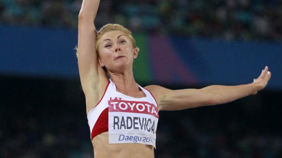 Ineta Radevica, en una imagen de archivo.