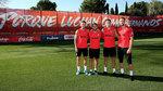 El Atlético ya tiene a sus cuatro capitanes: Oblak, segundo capitán tras Koke