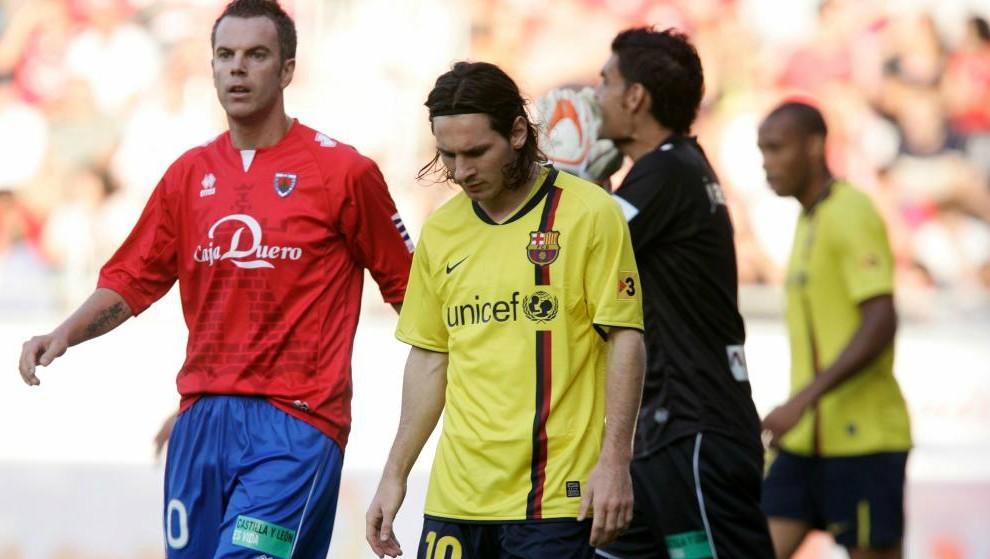 La derrota del Barcelona ante el Numancia en 2008 fue la última en el...