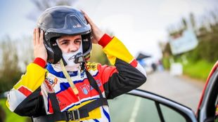 El piloto del Rally Team Spain, Efrén Llarena.