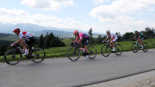 El alemán John Degenkolb a la izquierda durante la Vuelta a Polonia