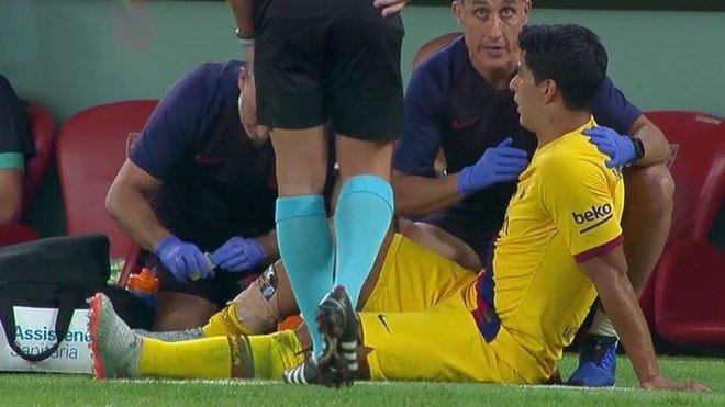 La lesión de Suárez