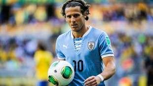 Forlán con Uruguay