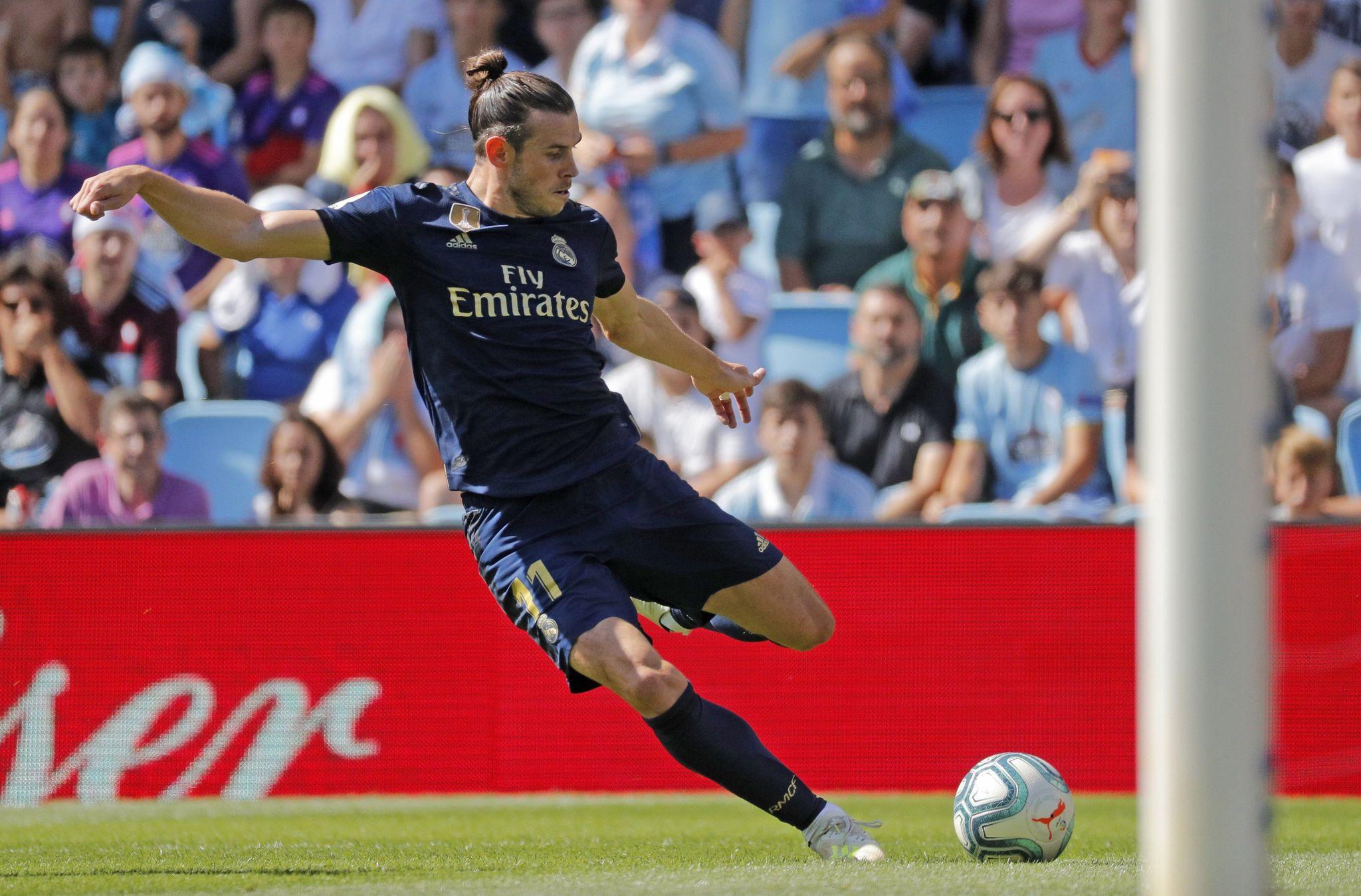 GRAF7382. VIGO, 17/08/2019.- El jugador del Real Madrid Gareth <HIT>Bale</HIT> durante el partido que disputó ante el Celta de Vigo, correspondiente a la primera jornada de LaLiga Santander, en el estadio de Balaídos, en Vigo. EFE/Lavandeira Jr
