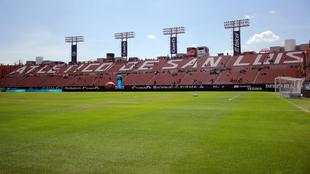Estadio Alfonso Lastras.
