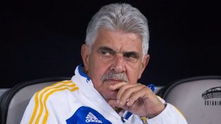 Ricardo Ferreti, entrenador de los Tigres.