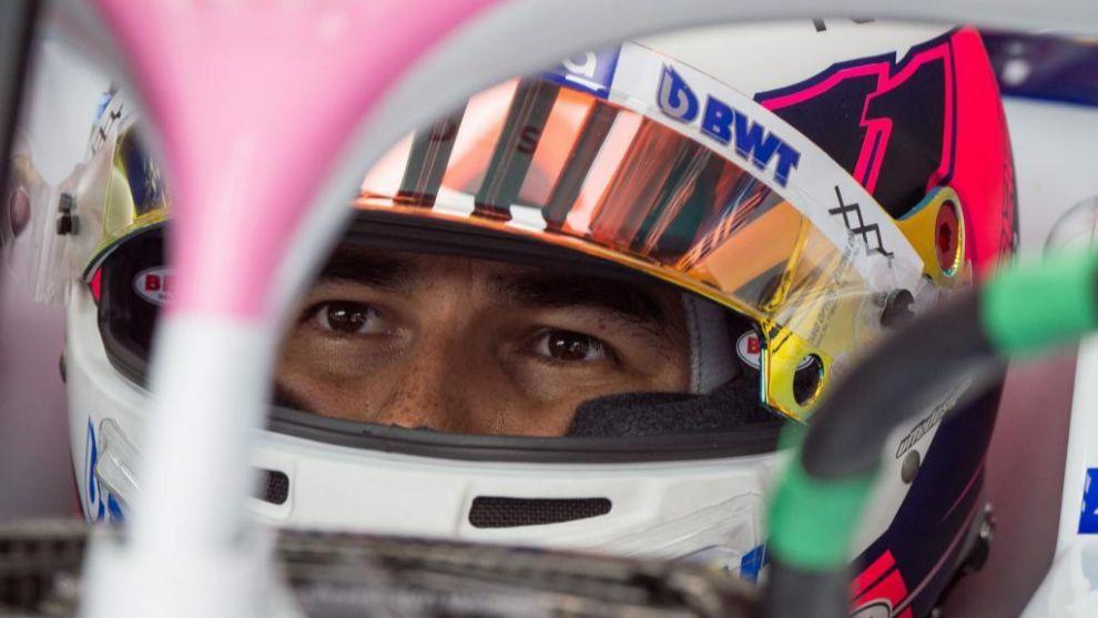 Sergio Pérez.