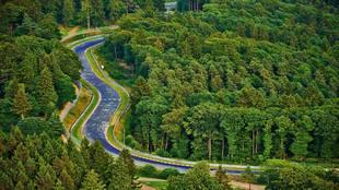 El circuito de Nurburgring.