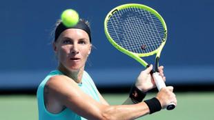 Svetlana Kuznetsova, ante Barty en Cincinnati