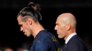 Bale and Zidane,