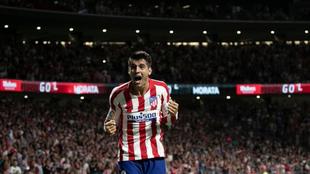 Álvaro Morata marcó el único gol del partido.