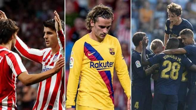 Clasificación Liga Santander: El Atlético de Morata y el Real Madrid...