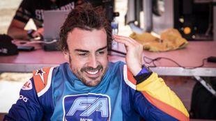 Alonso, en su primera prueba con el Toyota en Sudáfrica.