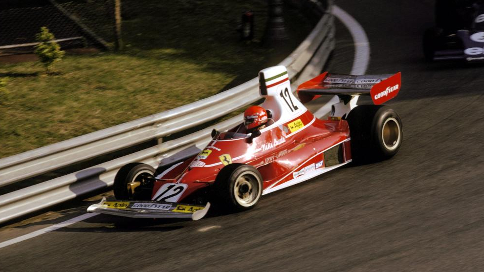 Niki Lauda, en 1975.
