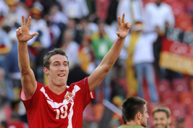 Radoslav Petrovic, uno de los jugadores pretendidos por el Almería.