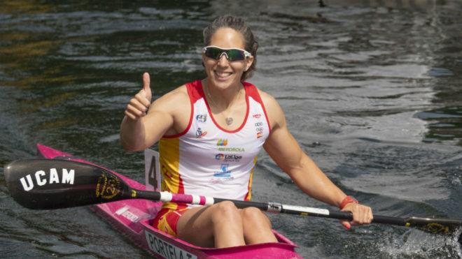 Teresa Portela, tras una competición