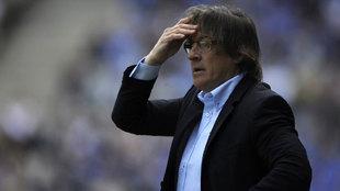Sergio Egea, entrenador del Real Oviedo.