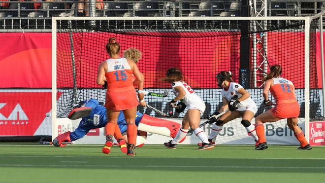 La selección española absoluta femenina empata frente a Holanda (1-1)