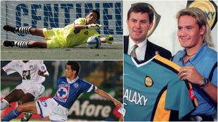 Los futbolistas mexicanos que defendieron ambas camisetas.