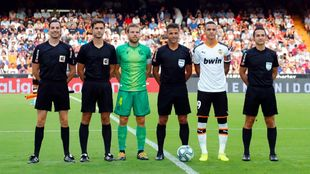 Illarramendi captained his side at Mestalla.