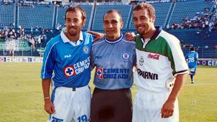 Omar Rodríguez, Óscar Pérez y Johan Rodríguez