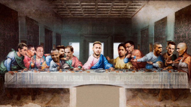 Todos los protagonistas del fichaje de Neymar