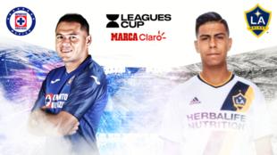 Cruz Azul vs LA Galaxy, en vivo minuto a minuto.