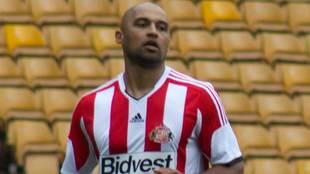 El futbolista Matt Piper en sus años de jugador del Sunderland