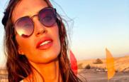 Sara Carbonero se encuentra pasando unos días de desconexión en su...