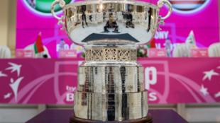 El trofeo de la Copa Federación