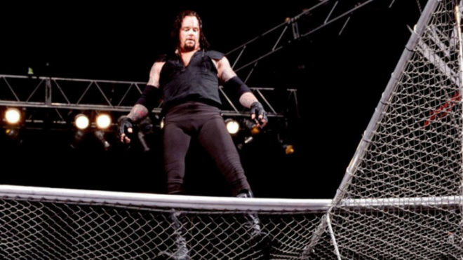 Undertaker en King of the Ring contra Mick Foley.