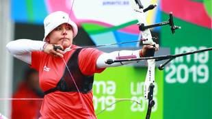 Mariana Avitia durante los Juegos Panamericanos Lima 2019