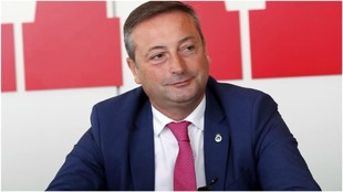 Alfredo Pérez, presidente del Racing de Santander