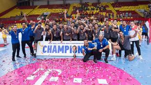 La selección juvenil egipcia celebra el título en el Mundial Sub19 /