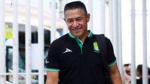 Ignacio Ambriz, entrenador del club León.