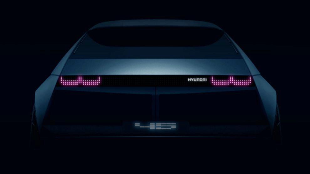 Hyundai 45 Concept: anticipo del futuro eléctrico de la marca coreana