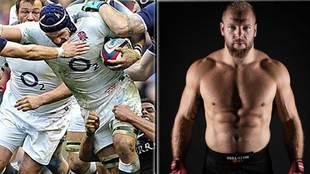 James Haskell (1,93 m. y 120 kg.), una de las grandes estrellas del...