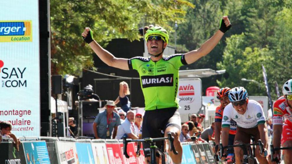 Mikel Aristi se sacó la espina en la segunda etapa del Tour del...