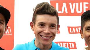 Miguel Ángel López Moreno, sonriente y confiado.
