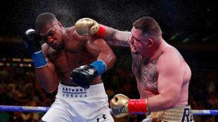 Primer pelea entre ambos boxeadores