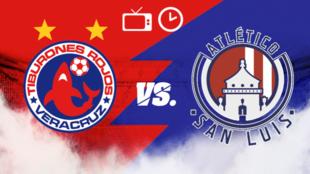 Veracruz vs Atlético de San Luis: Horario y dónde ver
