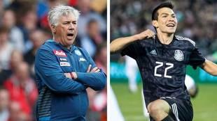 Ancelotti y Lozano