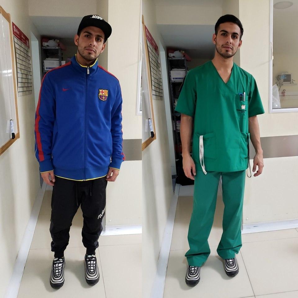 El enfermero Lautaro Guzmán sufrió discriminación clasista por ir...