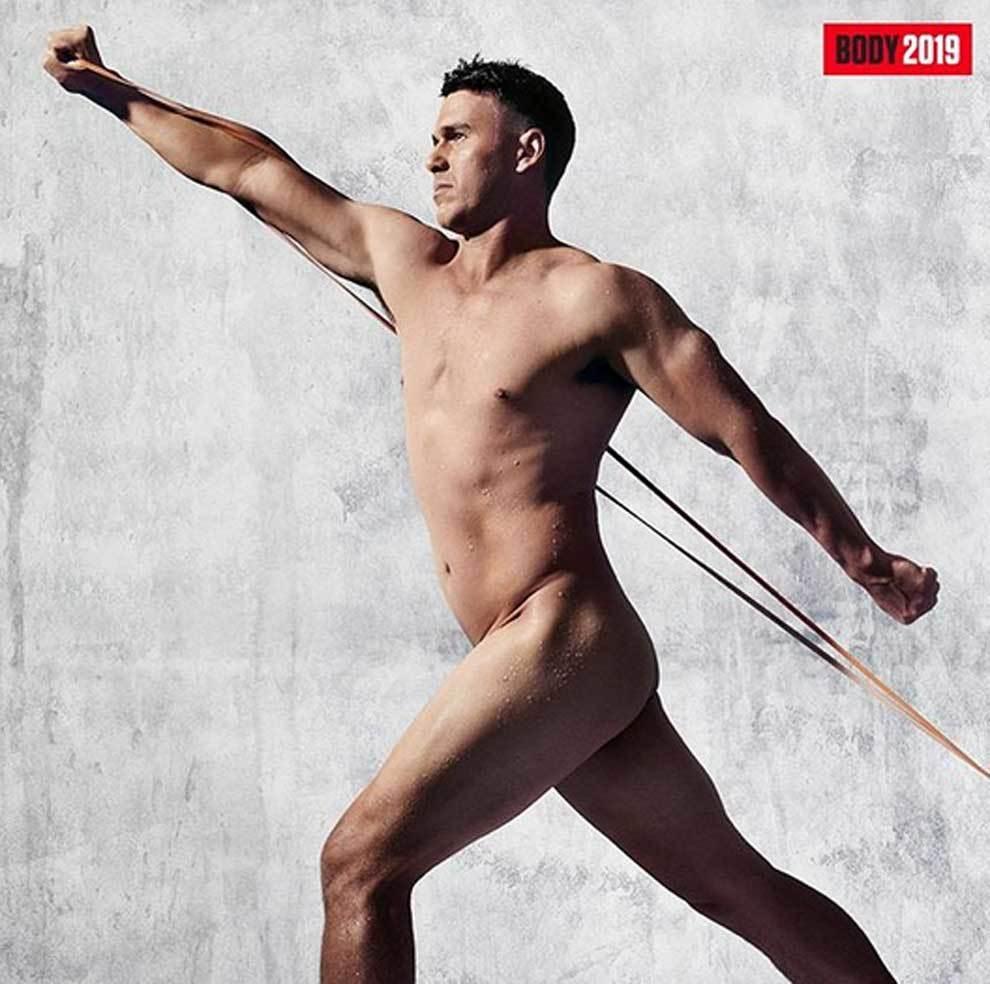 Desnudo integral de Brooks Koepka para el  Body Issue de ESPN