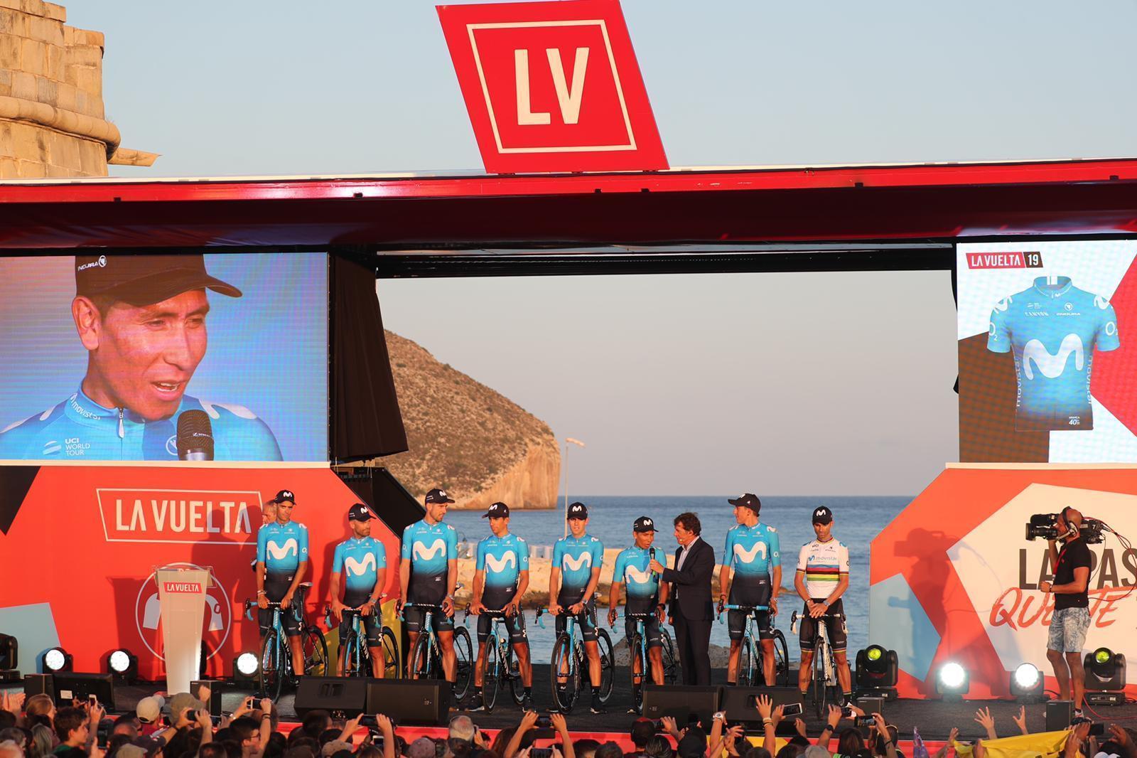 Presentación de la <HIT>Vuelta</HIT> a España 2019 en Moraira....
