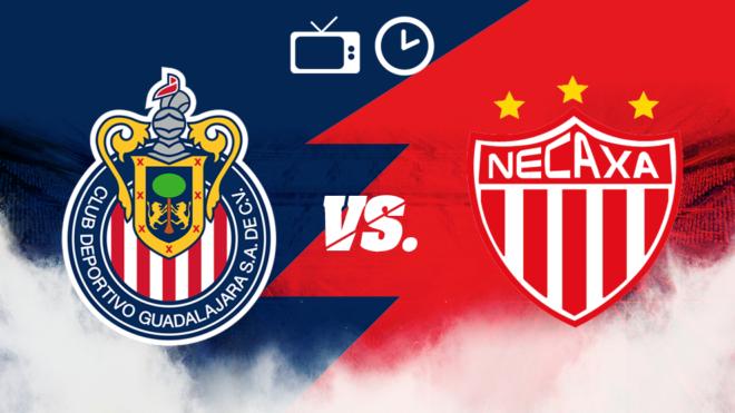 Chivas vs Necaxa: Horario y dónde ver