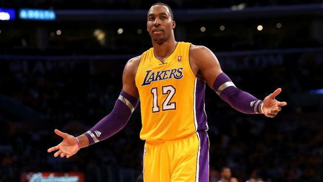 Dwight Howard en su anterior etapa en los Lakers
