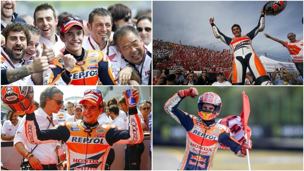 Fotos de agencias, Repsol Honda y MotoGP.com.