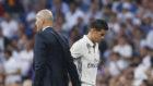 Zidane y James, en un partido de hace dos años